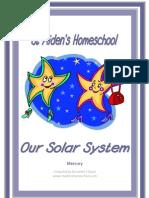 Our Solar System Mercury