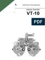 VT 10 InstructionManual