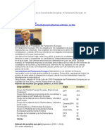 Tema 1.Instituciones Del Parlamento Europeo