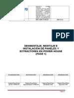 Instructivo Montaje y Desmontaje de Paneles y Estractores