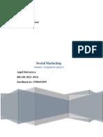 Social Marketing Project