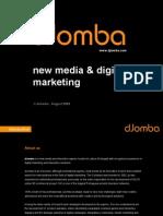 dJomba - Services Portfolio 2009
