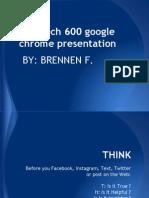 brennen tech 600 notebook using google chrome