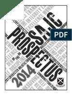 SAJC Prospectus 2014