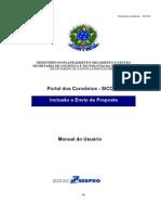 SICONV - Manual do Usuário e Propostas