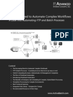 White Paper a Look Into Automating FTP and Batch Processes