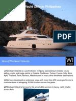 Luxury Yacht Charter Philippines