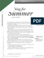 Joan Aiken-searching for Summer