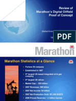 Marathon Digital Oilfield