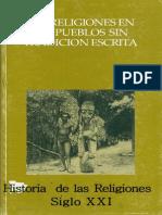 87489415 Las Religiones en Los Pueblos Sin Tradicion Escrita