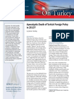 Apocalyptic Death of Turkish Foreign Policy in 2013?