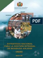 Estrategia Nacional para la Gestión Integral de Residuos Sólidos