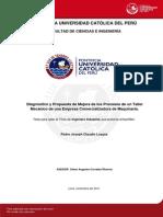 Claudio Loayza Pedro Mejora Procesos Taller Mecanico