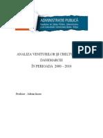 ANALIZA VENITURILOR ŞI CHELTUIELILOR DANEMARCEI