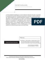 Guía sobre los aspectos generales, citas y referencias para la redacción de acuerdo al