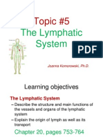 ANP 1105 the Lymphatic System