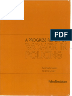 Sulton, C. G., Et. Al. - A Progress Report on Women in Policing