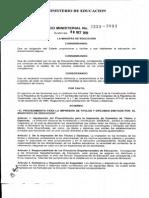 Acuerdo Ministerial 2323-2013 Títulos y Diplomas (2)