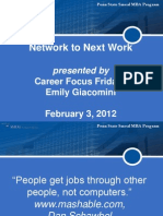 Network to Next Work 2-3-12