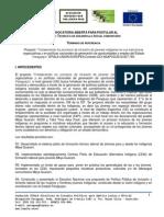 TDR Tecnico de Desarrollo Comunitario Pyto IEPALA-UE