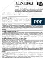 RP Malpraxis - Informatii Minime Obligatorii
