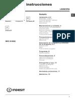 Manual Lavadora Indesit