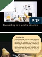 Nanotecnologia en Alimentos