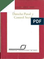 MUNOZ CONDE Francisco - Derecho Penal y Control Social