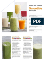 eatingwell smoothie cookbook