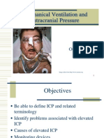 Mechanical Ventilation and Intracranial Pressure