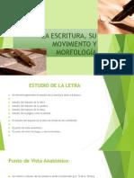Morfologia y Movimiento de La Escritura