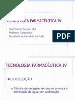 7º AULA TFIV - Liofilização - 2013
