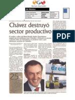 Articulo de El Periodico en la celebración de los 80 años