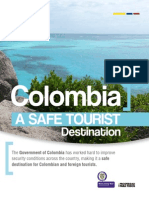 Colombia a safe tourist destination