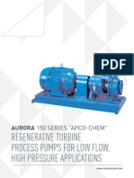 Aurora Regenerative Turbine 150 Series Brochure