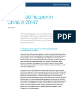 What Could Happen in China in 2014