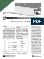 Alcance General - Auditoria