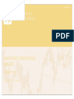 Monthly Statistical Digest January 2012
