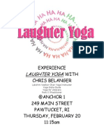 Laughter Yoga Sign