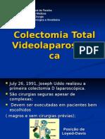Colectomia Total Videolaparoscópica