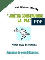 Actividades Semana de La Paz Primer Ciclo de Primaria