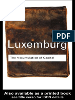 Rosa Luxemburg the Accumulation of Capital 2003