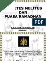 Diabetes mellitus dan puasa ramadhan