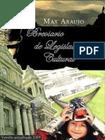 Breviario de Legislacion Cultural 2009