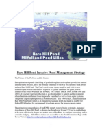 Bare Hill Pond Strategy