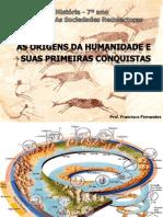 1. Origens da Humanidade e Hominização