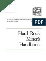 Hardrock Miner's Handbook