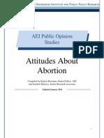 Attitudes about abortion