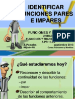 Identificar Funciones Pares e Impares Version Blog