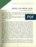 La Propiedad Privada Con Funcion Social